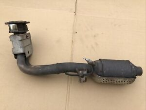 86 88 Mk2 Vw Scirocco 16v Dual Inlet Exhaust Downpipe W Gutted Cat S2 Oem