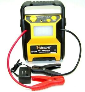 Battery Jump Stater Air Compressor Usb Output 15 Led Flash Light Booster Cable