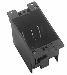 Single Gang Pvc Electrical Switch outlet Box Old Work Cut in Ul Approved Grey