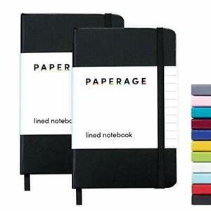 2 pack Pocket Notebook Journal Notepad Small College Ruled 3 7 X 5 6 Hard C