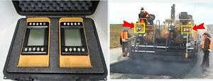Caterpillar Cat Dual Lcd Display Grade And Slope System For Asphalt Pavers Cd620