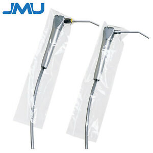 500pcs Dental Disposable 3 way Air Water Syringe Sleeves Handpiece Covers 2 5x10