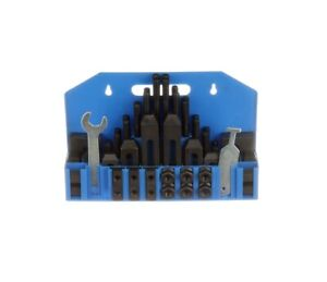 58 Piece Clamping Kit 5 8 T slot With 1 2 13 Studs 3900 0001