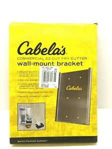 Cabelas Commercial Ez cut Fry Cutter Wall Mount Bracket Preowned