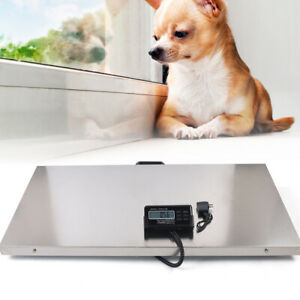 Large 440lbs Dog Digital Pet Scale For Shipping Veterinary Livestock Steel 103cm