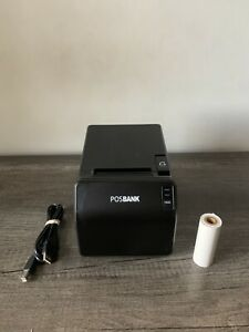 Posbank A11 Prime Thermal Receipt Printer With Usb Cable Paper Free Shipping