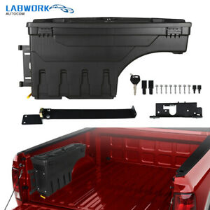 Driver Side Truck Bed Storage Tool Box For 2002 18 Dodge Ram 1500 2500 3500