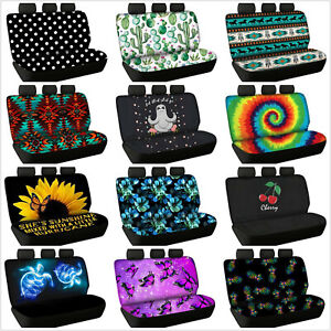 For U Designs Car Seat Covers Pet Backseat Cover For Cars Trucks And Suv S