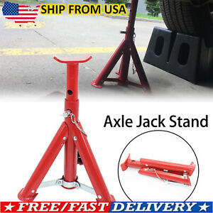 Durable 3 Ton Scale Car Jack Axle Stand Lift Heavy Duty Support Vehicle Floor