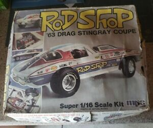 116 Mpc Rod Shop 63 Drag Stingray Coupe Parts Only Kit Not Complete