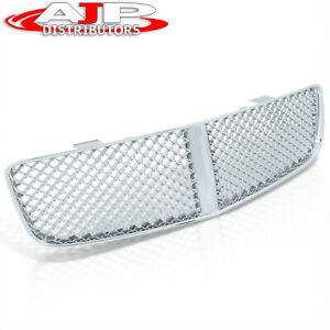 Chrome Sport Abs Mesh Front Hood Bumper Grille Grill For 2006 2010 Dodge Charger Fits 2010 Dodge Charger