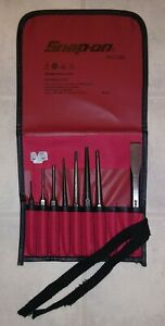 Snap On Ppc710bk 11 Piece Punch Amp Chisel Set Missing 2