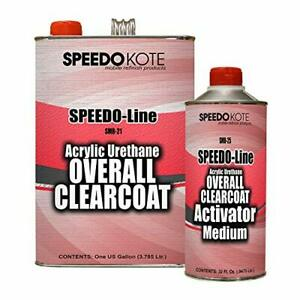 Automotive High Gloss Clear Coat Urethane Smr 2125 41 Gallon Clearcoat Kit