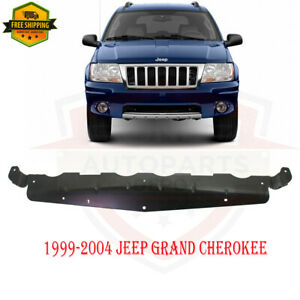 For 1999 2004 Jeep Grand Cherokee New Front Bumper Lower Air Deflector Ch1034101