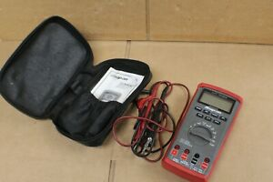Snap On Eedm504d Auto Ranging Digital Multimeter With Leads