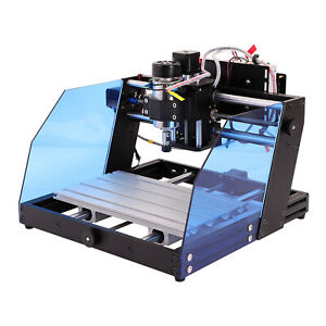 Used Cnc 3020 Metal Woodworking Cutter Laser Engraving Cnc Carving Machine