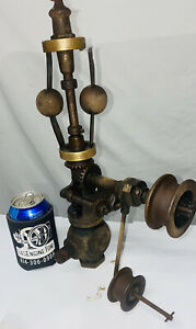 Pickering 1 2 Vertical 2 Fly Ball Governor Steam Gas Oilfield Engine Hit Miss