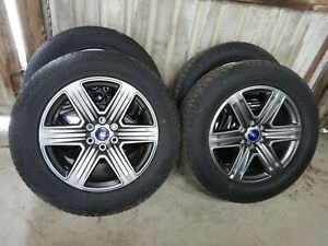 4 Ford F150 Factory 20 Alloy Charcoal Wheels Hankook Tires 2020 83o 09 20