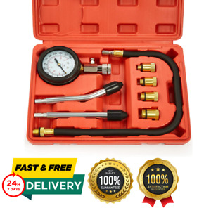 Petrol Engine Small Engine Cylinder Compression Tester 300psi With Adapter Hose