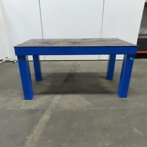 1 4 Thick Steel Fabrication Layout Welding Table Work Bench 72 1 2 x36 x36 1 4
