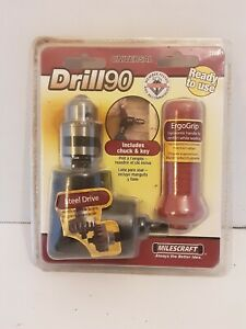 Milescraft Drill 90 Right Angle Adapter For 3 8 Larger Universal Drill90 1390