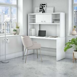 Echo 60w Credenza Desk With Hutch From Office By Kathy Large