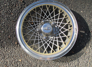 One Factory 1977 To 1987 Chevy Caprice 15 Inch Mag Style Hubcap Wheel Cover