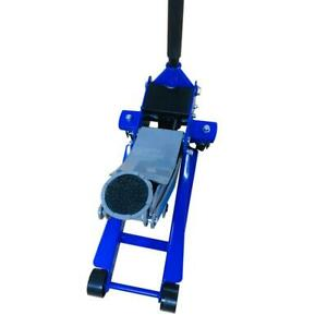 3 Ton Car Low Profile Steel Hydraulic Floor Jack Stand Lift Blue Us Store