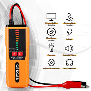 Cable Detector Underground Burried Cable Tester Open Circuit Short Circuit Test