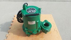 Hydromatic Shef45a1 Submersible Effluent Pump Septic Sump Sewage 1 2 Hp 115v New