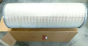 14 Outside Dia X 39 Tall Merv 15 Dust Collector Cartridge Filter
