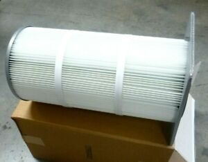 12 3 4 Outside Dia X 26 Tall Industrial Vacuum Dust Collector Filter Element
