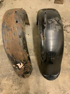 1929 Buick 116 Series Coupe Rear Fenders