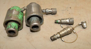 2 Greenlee Hydraulic 746 Ram Knockout Punch Driver Vintage Plumbing Electrical