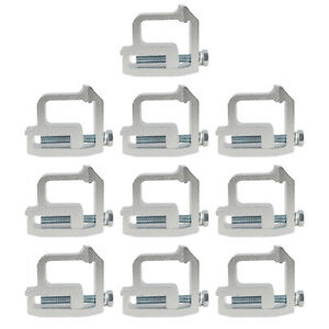 1 Set Truck Aluminum Mounting Clamps Truck Caps Camper Shell For Chevy Sierra
