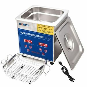 2l Ultrasonic Cleaner Industry Heated W timer Jewelry Ring Glasses