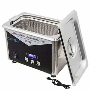 0 8l Ultrasonic Cleaner Industry W timer Jewelry Ring Parts Glasses