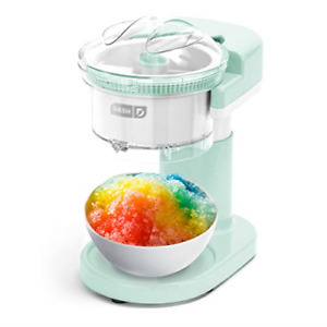 Ice Shaver Machine Snow Cone Maker Shaved Ice Electric Crusher Icee New