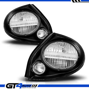 Fit For 2000 2001 2002 2003 Maxima Jdm Black Replacement Tail Lights Pair
