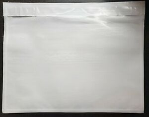 100 Clear 7 X 5 1 2 Packing List Envelope Invoice Slip Self Seal Pouch 5 5