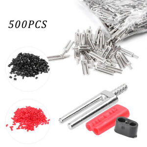 500 Sets Master Twin Double Ii Pins Plastic Sleeves Dental Lab Supplies