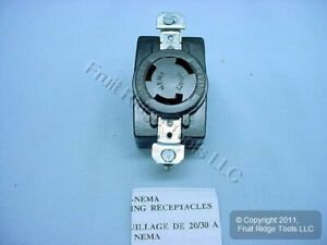 New Hubbell Bryant Locking Receptacle Outlet L11 30r 30a 250v 3 71130fr Bagged
