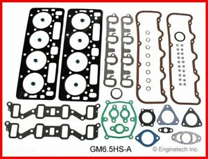 Gasket Gm Fits Chevy Hum 6 5l 395 Diesel With Head Bolts Gm6 5hs Awb