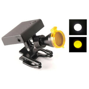 5w Wireless Dental Surgical Led Headlight Lamp Brightness Adjustable With Filter