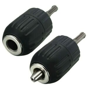 2mm 13mm Keyless Drill Chuck 1 2in 20unf Thread Sds Plus Adapter Replace Parts