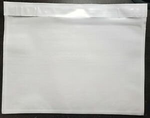 100 Clear 7 X 5 5 Packing List Envelope Invoice Slip Self Sealing Pouch