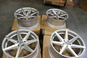 For Rohana Rc7 Silver W Machined Face 20 X 9 32 20 X 10 45 5x114 3