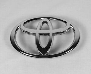 Toyota Corolla Grille Emblem 03 08 Front Grill Chrome Badge Symbol Logo Fits 2004 Corolla