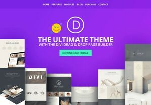 Divi Theme All in one Wordpress Theme Visual Page Builder extra bloom monarch