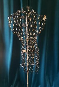 Vintage Dritz my Double Dress Form W Accessories Metal Stand Model A
